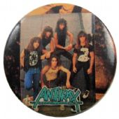 Anthrax - 'Group Early' Button Badge